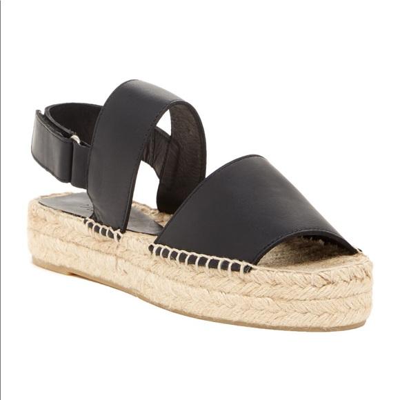 047b69f78839 Vince Shoes | Emilia Platform Espadrille Sandal Black 7 | Poshmark